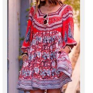 Free People Midsummer Dream Dress Boho Dress Small